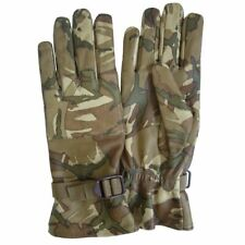 NEW - Genuine Military Issue Warm Weather MTP Leather Combat Gloves - Size 9