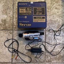 Sony Handycam Dcr-Trv18 Mini Dv Camcorder 120x Carl Zeiss Digital Zoom - Works