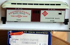Pennsylvania Overton Baggage car Kit #3746 MDC Roundhouse HO