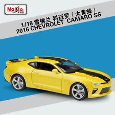 Maisto 1:18 2016 Chevrolet Camaro SS Diecast Model Car Bumblebee New in Box