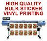 CUSTOM STICKER PRINTING VINYL CUT BULK SHAPE BUSINESS LABELS DESIGN CUT STICKERS