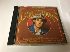 DON WILLIAMS Very Best Of CD 16 Track (dmcg4014) UK Mca