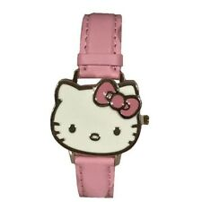 New Boxed Hello Kitty Flip Faced Watch Pink Strap Age 6+