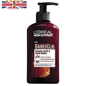 L'Oreal Paris Men Expert, Beard Shampoo, Barber Club 3-in-1 Beard, Hair &...