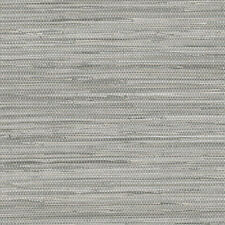Traditional Contemporary Gray Realistic Faux Grasscloth Designer Wallpaper DIY