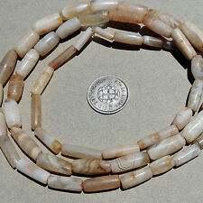 a 25.75 inch 66 cm strand ancient small and tiny agate beads mali #3897