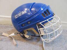 New listing Vintage Blue CCM HT2 Hockey Helmet