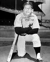 Mickey Mantle Autographed Repro Photo 8X10 New York Yankees Buy Any 2 Get 1 FREE