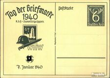 Duitse Rijk P288 Officiële Postcard gefälligkeitsgestempelt gebruikt Dag de Stem