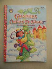 Spanish Coloring Book / Español Libro Para Colorear, Grandes Cuentos De Hadas