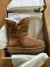 UGG Women's Constantine Boots Chestnut Size 11 New In Box