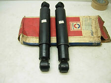 2 NOS 1979 1980 CHEVY GMC TRUCK 1500 2500 DELCO REAR SHOCKS DATED 046 79