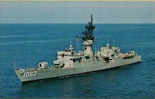 USS Reasoner FF-1063 Knox Class Escort Ship Postcard B25