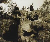 Foresta Da Fontainebleau Francia Placca L6 Stereo Vintage Positivo 6x13cm