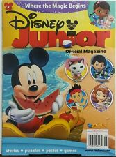 Disney Junior May Jun 2016 Where The Magic Begins Stories Games FREE SHIPPING sb