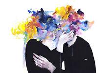 """Agnes Cecile """"intimité sur l'affichage"""" imprimer + whatson, Lora Zombie ou Banksy pin"""