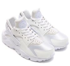 65abaff387b8 Nike Huarache Run GS All White Sneaker Running Shoes Trainers 654275110 WOW  EUR 38