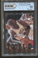 1995-96 Michael Jordan Fleer Total D #3 Gem Mint 10 Chicago Bulls HOF MVP GOAT
