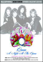 QUEEN / A NIGHT AT THE OPERA =EXPANDED COLLECTOR'S = Press 2xCD+1xDVD *F/S