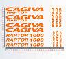 Adesivi stickers compatibili CAGIVA RAPTOR 1000 moto decal Scegli Colore Cod1292