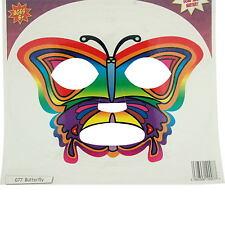 Papillon Face Transferts Masque Costume Déguisement Tatouage Temporaire