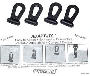 OP/TECH Adapt-Its Ösenadapter 4 Stück System Connector (K) (NEU/OVP)