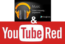 Google YouTube Red and Music Unlimited 4 Months Premium Subscription [US]