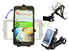 Universal Mobile Phone Holder Bike Stem Mount For 90% iPhone Samsung HTC Nokia