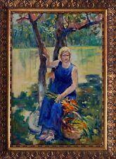 Akademischer russischer expressionist Maler Nicolai Issaev 1891-1977 x 62-015 x