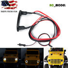 1:24 RC Car Front Light Lamp LED Headlight Set w/ Mount For Axial SCX24 AXI00002