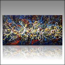 Vnartist / ORIGINAL 120cm x 60cm Abstrakt Gemälde Modern XXL Bilder 1120
