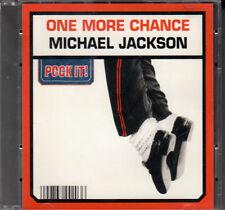"MINI CD 8 CM 2T MICHAEL JACKSON   ""ONE MORE CHANCE"""
