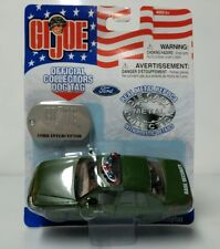 GI JOE Ford Interceptor Base Security Car - Die Cast - Maisto - Unopened