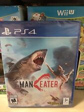 Maneater PlayStation 4 Game Ps4 Man Eater Shark Brand New Factory Sealed