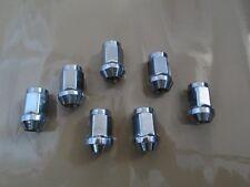 "12x1.5 Chrome Acorn Bulge Lugnuts Set of 20 Closed End Wheel Lug nuts 3/4"" HEX"