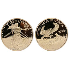 1pcs 2011 1oz  fine gold-50 dollars liberty coin double eagle gold plated coin W