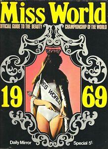 1969 Miss World brochure programme Albert Hall London Eva Rueben-Staier