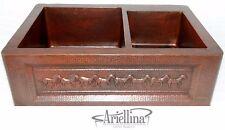 Ariellina Farmhouse 14 Gauge Copper Kitchen Sink Lifetime Warranty New AC1826