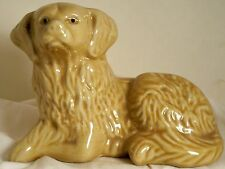 Dog Figurine CHESAPEAKE BAY RETRIEVER Laying Porcelain Brazil K Collection GREAT