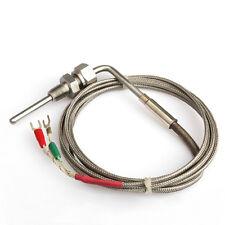 2m EGT K Type Thermocouple Exhaust Probe High Temperature Sensors Threads