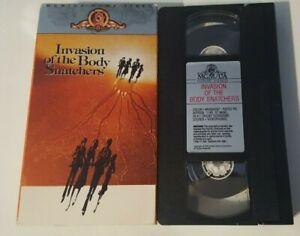 Invasion of the Body Snatchers(1979) VHS 1988(Donald Sutherland, Jeff Goldblum)