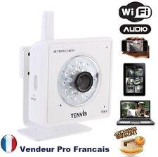 Camera Reseau IP Interieur infrarouge sans fil Wifi Smartphone Iphone M319W Blan