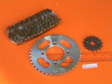 New Drive Chain / Sprocket Set # 428H 116 long 15T / 39T ZJ125 Motorcycle 125cc