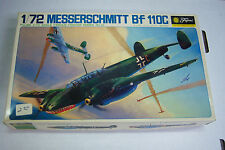 Fujimi Messerschmitt Bf 110 C Fighter 1:72 Scale Plastic Model Kit 091912JBe
