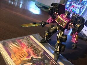 Botcon 2012 SG Optimus Prime Shattered Glass Transformers Exclusive laser deluxe