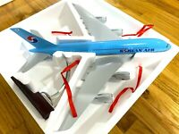 Korean Air Airbus 380 Jet Model Souvenir Reward Statue, 1:135 Detailed Diecast