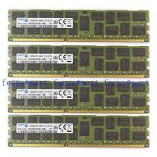 Samsung 4x16GB DDR3 1866mhz Registered RAM PC3-14900R ECC Server REG Memory 2RX4
