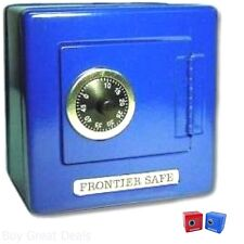 Kid Money Safe Small Combination Steel Lock Box Starter Coin Cash Slot Home New