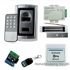 Biometric Fingerprint Door Access Control System+Magnetic Lock+Remote Control