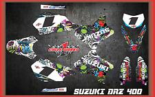 Suzuki DRZ400 DRZ 400  SEMI CUSTOM GRAPHICS KIT VICTORIA2